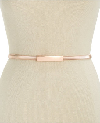 Inc International Concepts Cobra Stretch Chain Belt, Only at Macy's $34.50 thestylecure.com