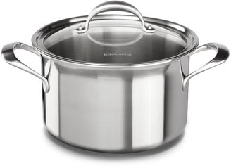 KitchenAid 8-qt. Stainless Steel Copper Core Stockpot with Lid