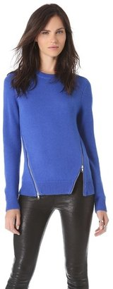 Yigal Azrouel Cut25 by Zipper Detail Sweater