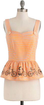 Knitted Dove Along for the Ride Top