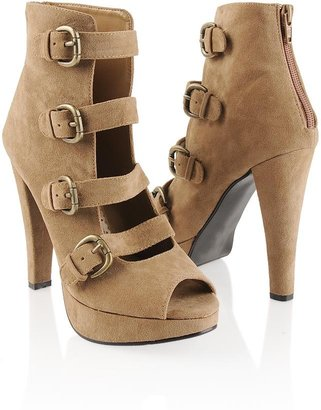 Forever 21 Strappy Ankle Pumps