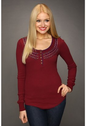 Free People Money Maker Thermal (Henna) - Apparel