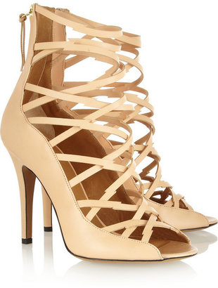 Isabel Marant Paw multi-strap leather sandals