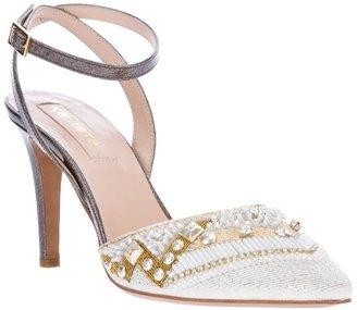 Kalliste bead embellished sandal