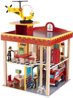 Kid Kraft Fire Station Set