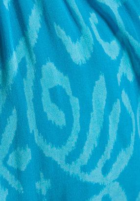 Indah Wren Strapless Pleated Mini Dress
