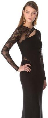 Versace Slash Evening Gown