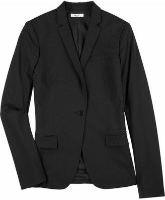 Helmut Lang Single-breasted wool blazer