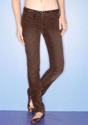 Delia's Taylor Low-Rise Super Skinny Cord