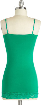 Style Stratum Top in Green