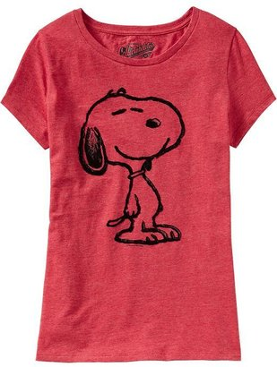 Old Navy Women's Snoopy® Heathered Tees