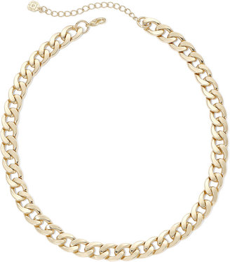 MONET JEWELRY Monet Gold-Tone Curb Link Collar Necklace $22 thestylecure.com