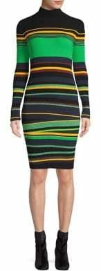 Diane von Furstenberg Ribbed Bodycon Dress
