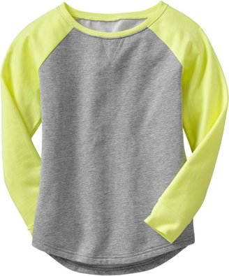Old Navy Girls Raglan-Sleeve Sweatshirts