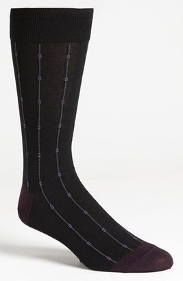 Cole Haan 'Squares and Pin Stripes' Socks