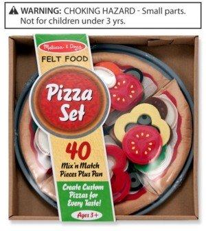 Melissa & Doug Kids Toys, Felt Pizza Set