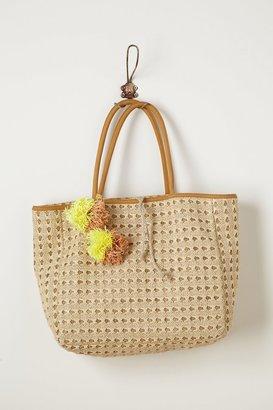Anthropologie Gilt Beach Bag