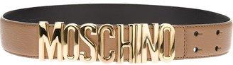 Moschino branded belt