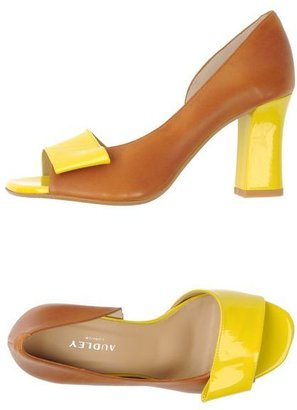 Audley Pumps with open toe