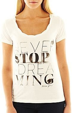 Mng by Mango® Never Stop Dreaming Graphic Tee