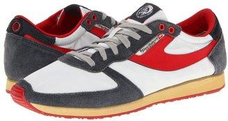 Diesel Pass On - 13 (Grey/Red) - Footwear