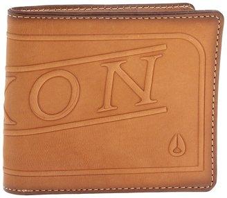 Nixon Labelled Bi-fold Zip (Saddle) - Bags and Luggage
