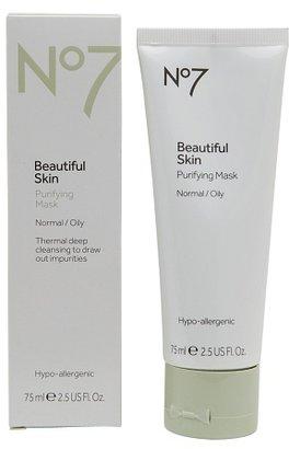 No7 Beautiful Skin Purifying Mask, Normal / Oily