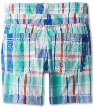 Benetton Kids Boys' Plaid 5-Pocket Shorts (Little Kids/Big Kids)