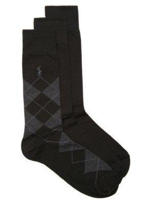 Polo Ralph Lauren Argyle Mens Dress Socks - 3 Pack