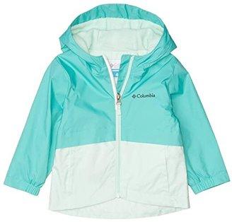 Columbia Kids Rain-Zillatm Jacket (Toddler) (Dolphin/Sea Ice) Girl's Jacket