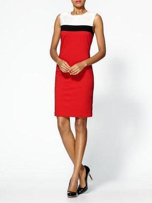 Trina Turk Derain Colorblock Ponte Dress