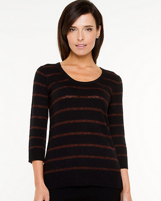 Le Château Angora Blend Scoop Neck Sweater