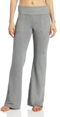 So Low SOLOW Women's Fold Over Wide Leg Pant