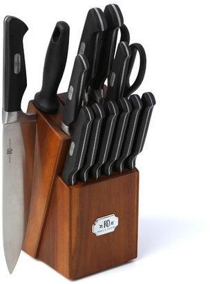 Paula Deen Signature Cutlery 14 Piece Knife Block Set