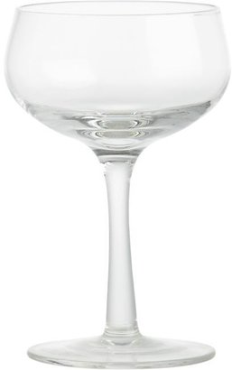 Crate & Barrel Bubbly Cordial Glass