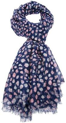 Oscar de la Renta pebble print scarf