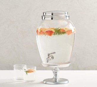 Pottery Barn PB Classic Glass Drink Dispenser