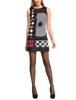 Desigual Women's Bruselas A-Line Sleeveless Dress Dress