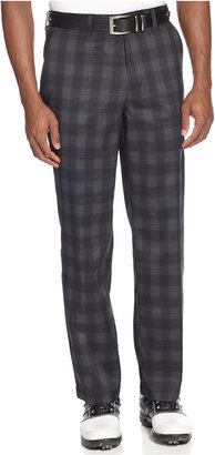 Greg Norman for Tasso Elba Golf Pants, Glen Plaid Golf Pants
