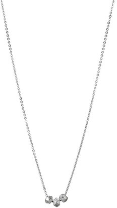 Fossil Sterling Wish Bead Necklace