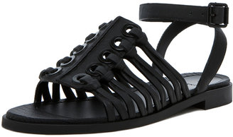 Givenchy Gladiator Sandal in Black