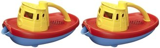 Green Toys Tugboat - Yellow 2 pack