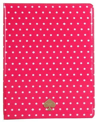 Kate Spade Dots Spades Tablet Folio (Zinnia Pink) - Bags and Luggage