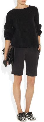 Hogan Katie Grand Loves Printed calf hair lace-up flats