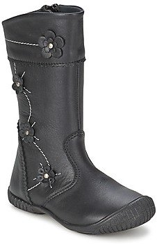 Citrouille et Compagnie AMATIS girls's High Boots in Black