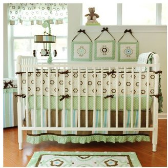 My Baby Sam Forget Me Not Crib Bedding Set