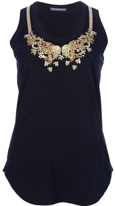 Alexander McQueen embellished vest