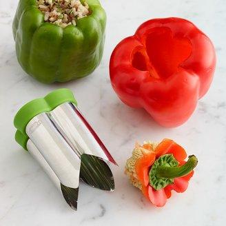Chef'N Stainless-Steel Pepper Corer