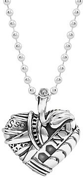 Lagos Sterling Silver Heart of New York Necklace, 34