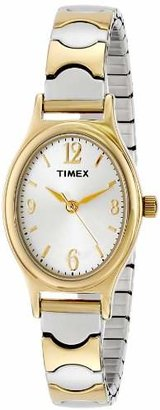 "Timex Women's T26301 ""Elevated Classics"" Two-Tone Expansion Band Watch $54.95 thestylecure.com"